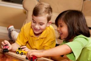 Happy, respectful children--Easy As Pie!