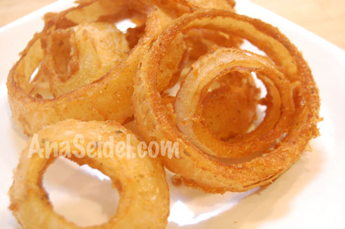 Gluten-Free, Soy-Free, Dairy-free, & Egg-Free Onion Ring Batter Recipe